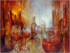 Vinilo para la pared  burgundy - Annette Schmucker