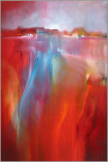 Cuadro de plexi-alu  evening walk - Annette Schmucker