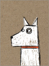Vinilo para la pared  West Highland Terrier - Nic Squirrell