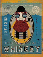 Vinilo para la pared  Old Salt Whiskey - Ryan Fowler