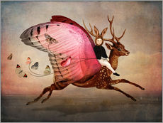 Cuadro de plexi-alu  Enjoy the ride - Cathrin Welz-Stein