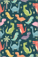 Kidz Collection - Colorful dinosaurs