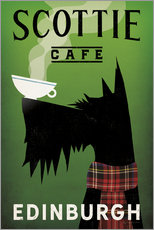 Vinilo para la pared  Scottie Cafe - Ryan Fowler