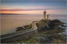 Vinilo para la pared  Petit Minou light house at sunrise - Francesco Vaninetti