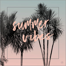Vinilo para la pared  summervibes - m.belle