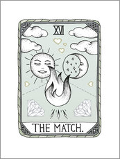 Cuadro de plexi-alu  The Match - Barlena