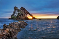 Vinilo para la pared  Sunrise at Bow Fiddle Rock - Reemt Peters-Hein