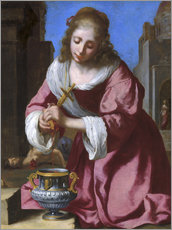 Vinilo para la pared  Holy Praxedis - Jan Vermeer