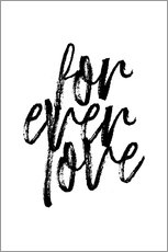 Martina illustration - Forever love quote