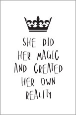 Martina illustration - Empowering magic quote