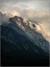 Póster Cloudy Dolomites