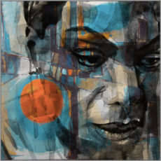 Cuadro de metacrilato  Nina simone - Paul Lovering