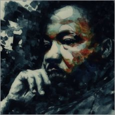 Lienzo  Martin Luther King - Paul Lovering