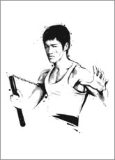 Lienzo  Bruce Lee - tom