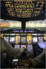 Póster Cabina Airbus A380