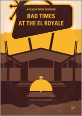 Póster Bad Times At The El Royale