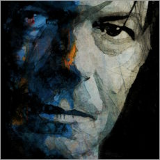 Cuadro de aluminio  David Bowie, Camaleón - Paul Lovering