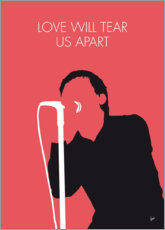 Póster Joy Division, Love will tear us apart