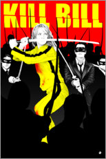 Póster kill Bill