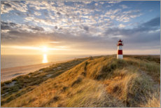 Lienzo  Lighthouse List East en Sylt - Jan Christopher Becke
