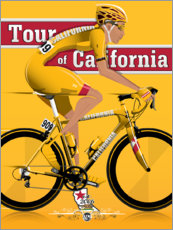 Póster Tour de California