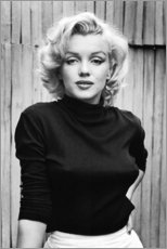 Cuadro de madera  Marilyn monroe - Celebrity Collection