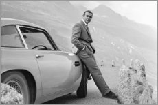 Lienzo  Sean Connery, alias 007 - Celebrity Collection