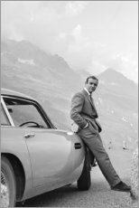 Lienzo  Sean Connery como James Bond - Celebrity Collection