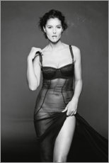 Cuadro de aluminio  Monica Bellucci - Celebrity Collection