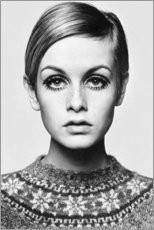 Vinilo para la pared  Twiggy - Celebrity Collection