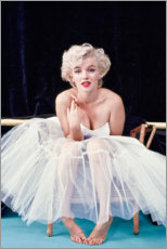 Aluminio-Dibond  Marylin Monroe en vestido de ballet - Celebrity Collection