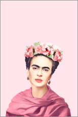 Póster  Homenaje a Frida Kahlo - Celebrity Collection