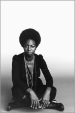 Cuadro de plexi-alu  Nina Simone - Celebrity Collection
