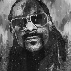 Póster  Snoop Dogg - Michael Tarassow