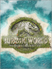 Cuadro de metacrilato  Jurassic World - The Usher designs