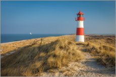 Lienzo  Lighthouse List Ost en Sylt, Alemania - Christian Müringer