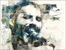 Cuadro de PVC  Freddie Mercury - The Show Must Go On - Paul Lovering Arts