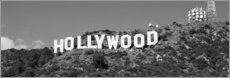 Cuadro de madera  Hollywood Sign en Los Angeles, California