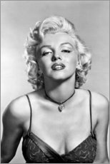 Cuadro de madera  Retrato de Marilyn Monroe - Celebrity Collection