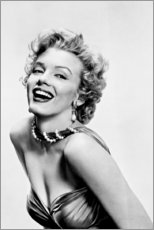 Cuadro de PVC  Marilyn Monroe sonriendo - Celebrity Collection