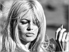 Cuadro de madera  Brigitte Bardot - Celebrity Collection
