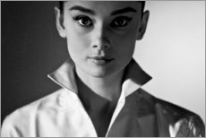 Lienzo  Audrey Hepburn - Celebrity Collection