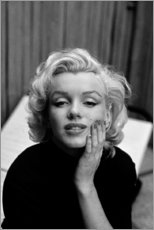 Póster  La mirada soñadora de Marilyn Monroe - Celebrity Collection