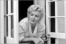Cuadro de metacrilato  Marilyn Monroe - escena de la ventana - Celebrity Collection
