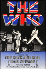 Póster  The Who - Hall of Fame - Entertainment Collection