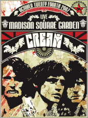 Póster  Cream - Madison Square Garden - Entertainment Collection