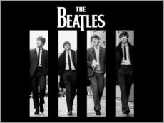 Póster  Los Beatles - Entertainment Collection
