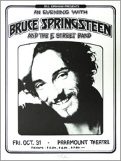 Póster  Bruce Springsteen - E Street Band - Entertainment Collection
