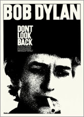 Lienzo  Bob Dylan - Don't Look Back - Entertainment Collection