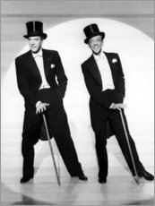 Póster Jack Buchanan y Fred Astaire